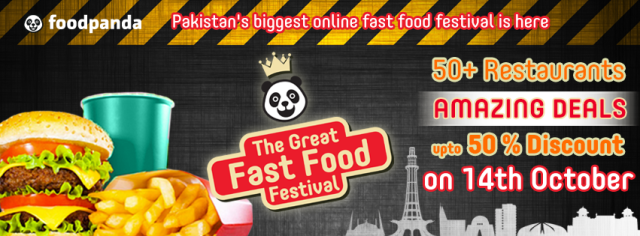 Here's why I am going to celebrate The Great Fast Food Festival…